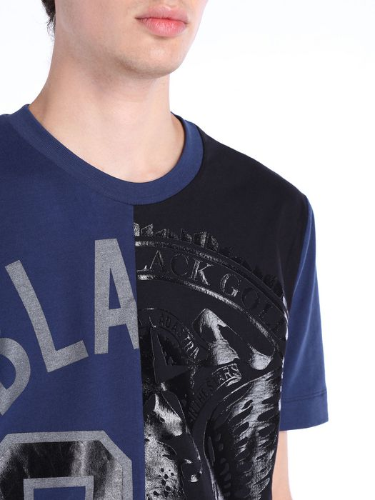 DIESEL BLACK GOLD TEORIA-TC-BLAREST Camiseta U a