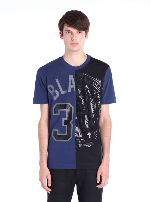 DIESEL BLACK GOLD TEORIA-TC-BLAREST Camiseta U f