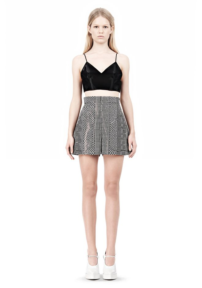 ALEXANDER WANG V-NECK CAMISOLE TOP WITH RELEASED DARTS TOP Adult 12_n_f