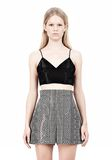 ALEXANDER WANG V-NECK CAMISOLE TOP WITH RELEASED DARTS TOP Adult 8_n_e