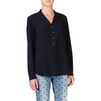 STELLA McCARTNEY Camicia Eva Color Inchiostro Maniche lunghe D r