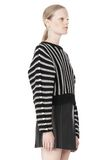 T by ALEXANDER WANG DOLMAN LONG SLEEVE PULLOVER Crewneck Adult 8_n_a