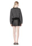 T by ALEXANDER WANG DOLMAN LONG SLEEVE PULLOVER Crewneck Adult 8_n_r