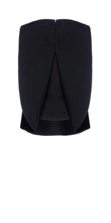 Balenciaga Plastron Wing Top