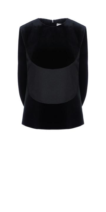 BALENCIAGA Top D Balenciaga Top 'Plastron Wing' f