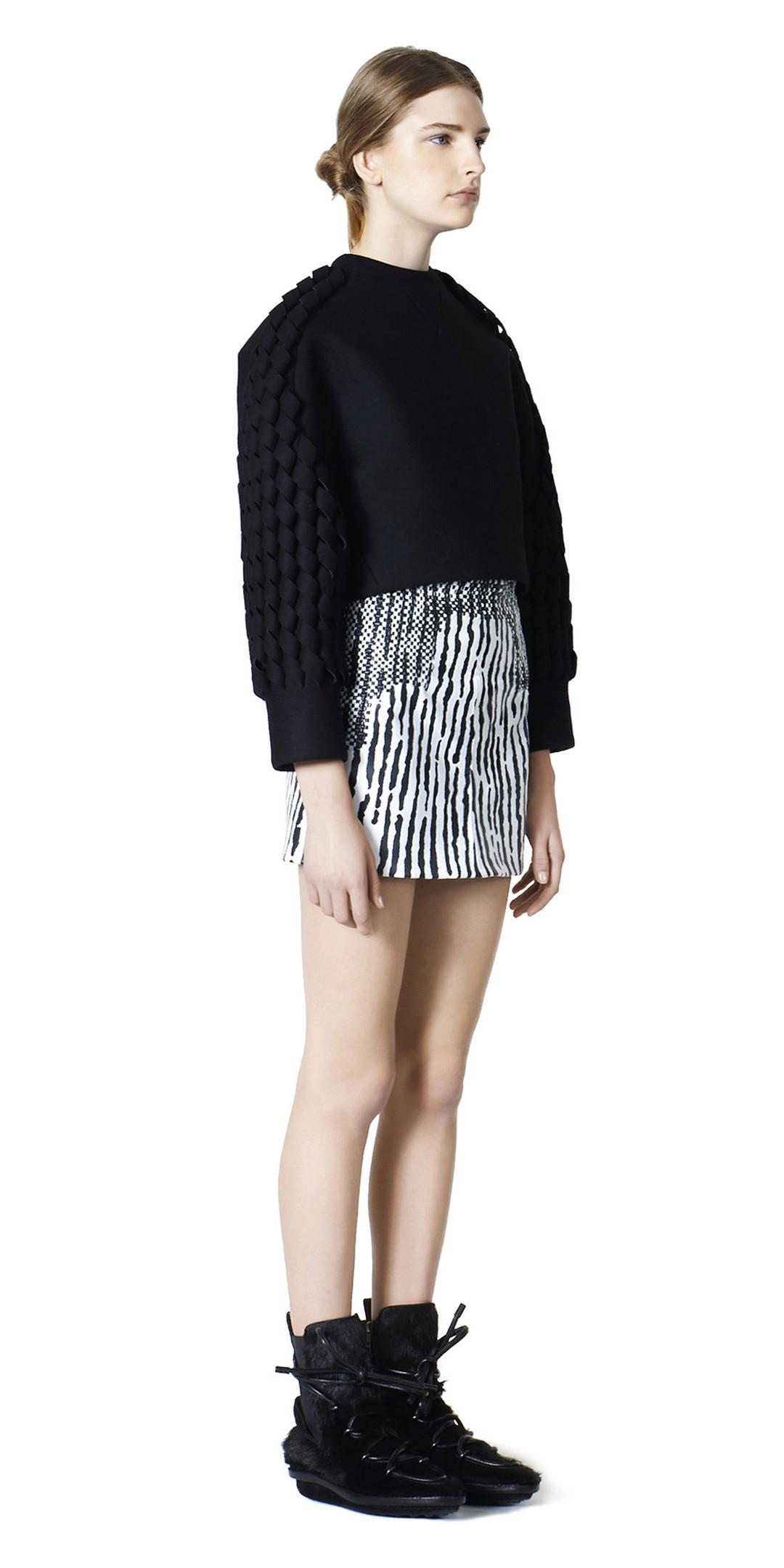 BALENCIAGA Balenciaga Pullover Spiral Top D f