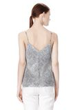 T by ALEXANDER WANG GEORGETTE CAMISOLE TOP TOP Adult 8_n_d