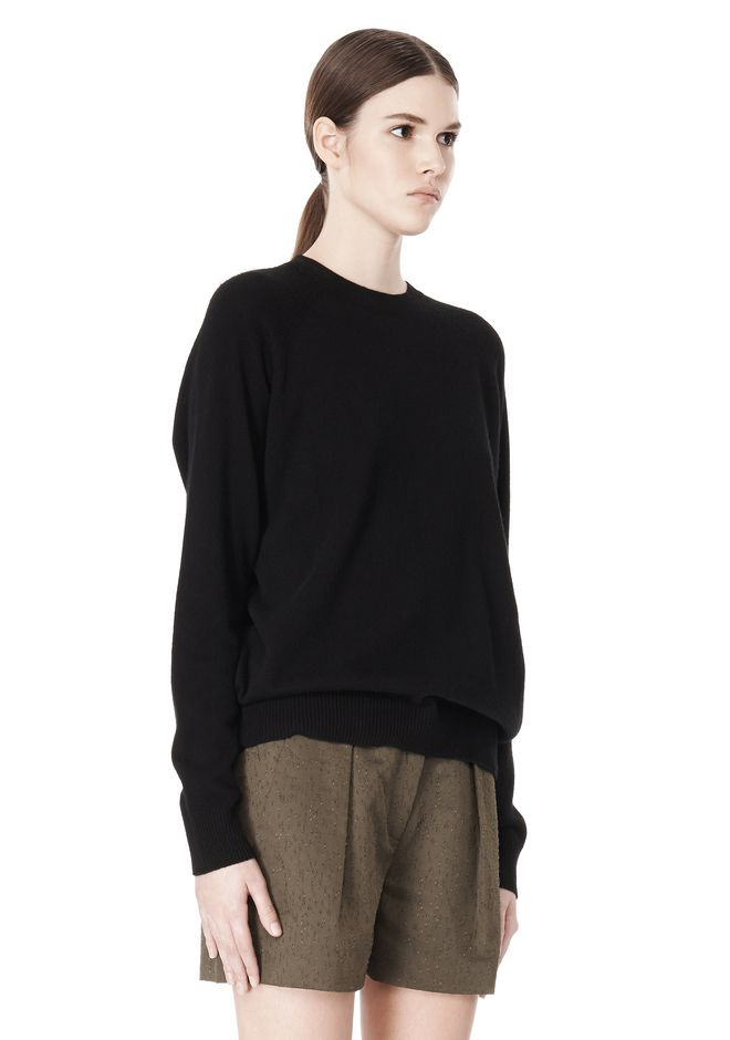 ALEXANDER WANG PEEL AWAY SWEATSHIRT  TOP Adult 12_n_a