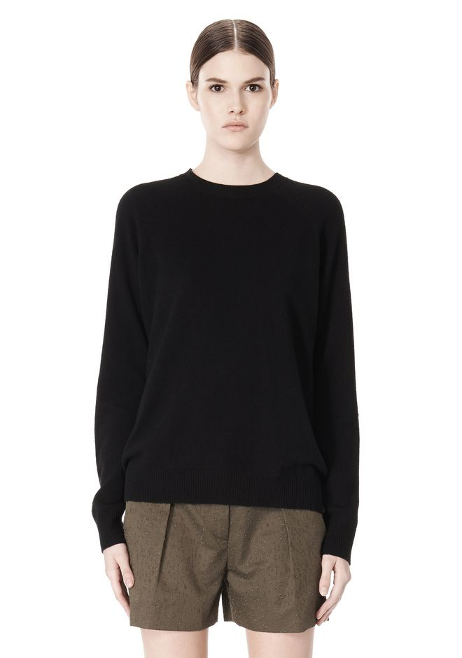 ALEXANDER WANG PEEL AWAY SWEATSHIRT  TOP Adult 12_n_d