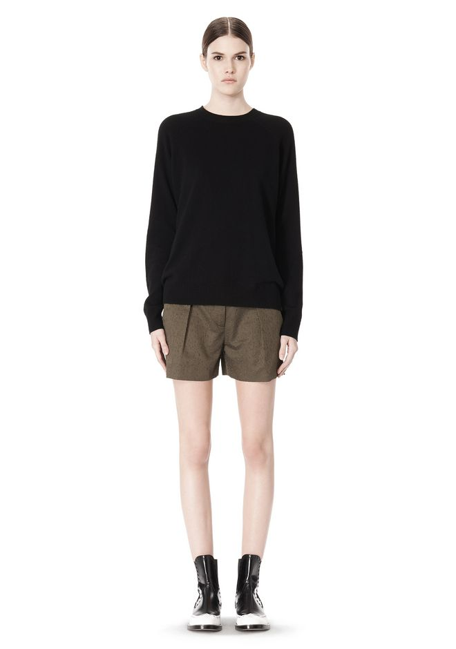 ALEXANDER WANG PEEL AWAY SWEATSHIRT  TOP Adult 12_n_f