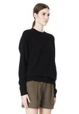 ALEXANDER WANG PEEL AWAY SWEATSHIRT  TOP Adult 8_n_a