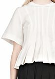ALEXANDER WANG VACUUM PRESSED T-SHIRT WITH IRREGULAR SEAMS TOP Adult 8_n_a