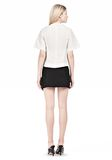 ALEXANDER WANG VACUUM PRESSED T-SHIRT WITH IRREGULAR SEAMS TOP Adult 8_n_r