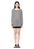 T by ALEXANDER WANG LIGHTWEIGHT LONG SLEEVE KNIT SWEATER TOP Adult 8_n_f