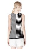 T by ALEXANDER WANG TENCEL COTTON LIGHTWEIGHT KNIT TANK TOP Adult 8_n_d