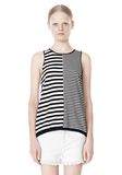 T by ALEXANDER WANG TENCEL COTTON LIGHTWEIGHT KNIT TANK TOP Adult 8_n_e