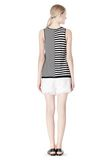 T by ALEXANDER WANG TENCEL COTTON LIGHTWEIGHT KNIT TANK TOP Adult 8_n_r