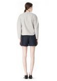 ALEXANDER WANG SWEATSHIRT WITH SHIRT TAIL HEM TOP Adult 8_n_r