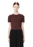 ALEXANDER WANG SHRUNKEN MESH TEE  TOP Adult 8_n_e