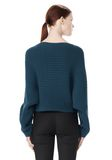 ALEXANDER WANG CROPPED RIB PULLOVER  TOP Adult 8_n_d