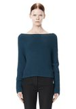 ALEXANDER WANG CROPPED RIB PULLOVER  TOP Adult 8_n_e