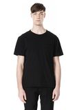 T by ALEXANDER WANG DISTRESSED SLUB COTTON JERSEY CREWNECK TEE /DEL Adult 8_n_e