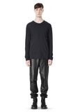 T by ALEXANDER WANG CLASSIC CREWNECK LONG SLEEVE TEE LONG SLEEVE TEE Adult 8_n_f