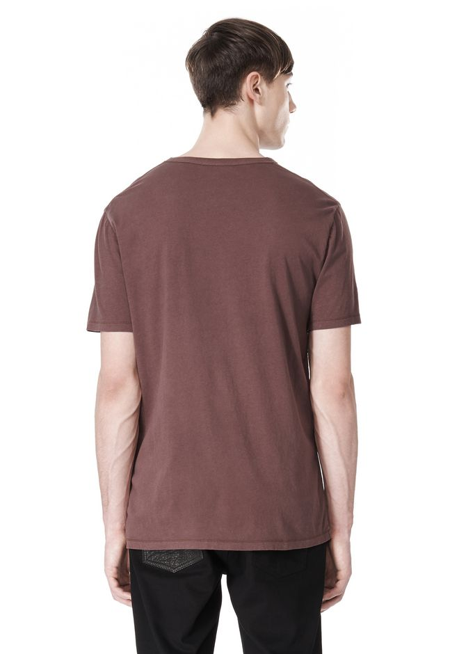 T by ALEXANDER WANG CLASSIC CREWNECK SHORT SLEEVE TEE /DEL Adult 12_n_d
