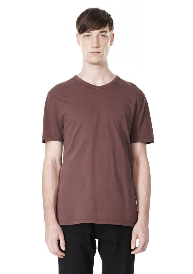 T by ALEXANDER WANG CLASSIC CREWNECK SHORT SLEEVE TEE /DEL Adult 12_n_e