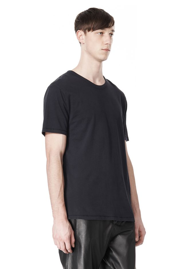 T by ALEXANDER WANG CLASSIC CREWNECK SHORT SLEEVE TEE /DEL Adult 12_n_a
