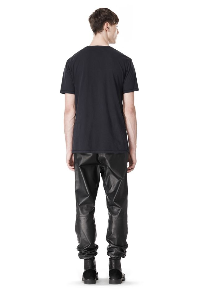 T by ALEXANDER WANG CLASSIC CREWNECK SHORT SLEEVE TEE /DEL Adult 12_n_r