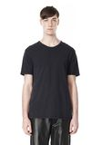 T by ALEXANDER WANG CLASSIC CREWNECK SHORT SLEEVE TEE /DEL Adult 8_n_e