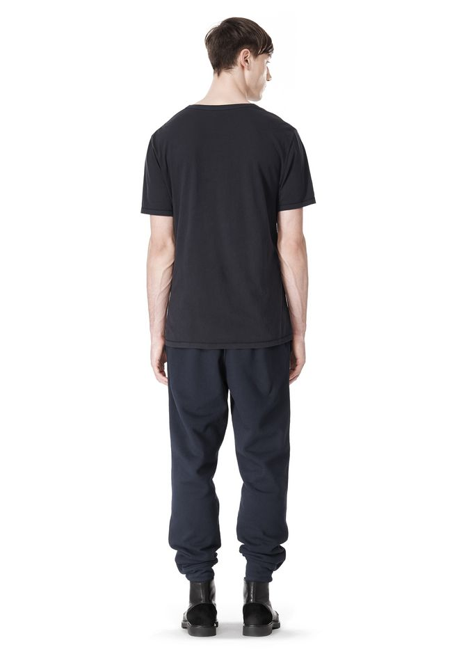 T by ALEXANDER WANG LOW NECK SHORT SLEEVE TEE /DEL Adult 12_n_r