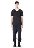 T by ALEXANDER WANG LOW NECK SHORT SLEEVE TEE /DEL Adult 8_n_f