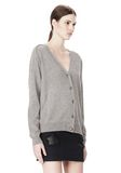ALEXANDER WANG PEEL AWAY CARDIGAN  CARDIGAN Adult 8_n_a
