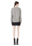 ALEXANDER WANG PEEL AWAY CARDIGAN  CARDIGAN Adult 8_n_r