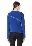 ALEXANDER WANG ZIP PEEL AWAY PULLOVER Crewneck Adult 8_n_d