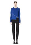 ALEXANDER WANG ZIP PEEL AWAY PULLOVER Crewneck Adult 8_n_f