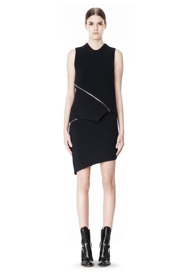 ALEXANDER WANG ZIP PEEL AWAY TANK TOP Adult 12_n_f