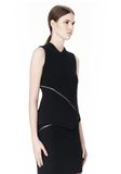 ALEXANDER WANG ZIP PEEL AWAY TANK TOP Adult 8_n_a