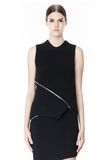 ALEXANDER WANG ZIP PEEL AWAY TANK TOP Adult 8_n_e