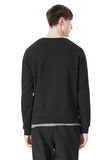 T by ALEXANDER WANG VINTAGE FLEECE LONG SLEEVE SWEATSHIRT SWEATER Adult 8_n_d