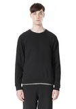 T by ALEXANDER WANG VINTAGE FLEECE LONG SLEEVE SWEATSHIRT SWEATER Adult 8_n_e