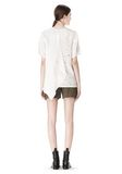 ALEXANDER WANG T-SHIRT WITH EXPOSED DISTRESSED BACK TOP Adult 8_n_r
