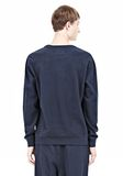 T by ALEXANDER WANG PIQUE DOUBLE KNIT SWEATSHIRT TOP Adult 8_n_d