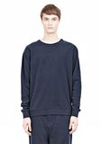 T by ALEXANDER WANG PIQUE DOUBLE KNIT SWEATSHIRT TOP Adult 8_n_e