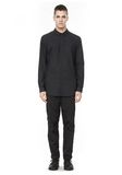ALEXANDER WANG HIDDEN BUTTON DOWN DRESS SHIRT SHIRT Adult 8_n_f