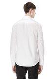 ALEXANDER WANG HIDDEN BUTTON DOWN DRESS SHIRT SHIRT Adult 8_n_d
