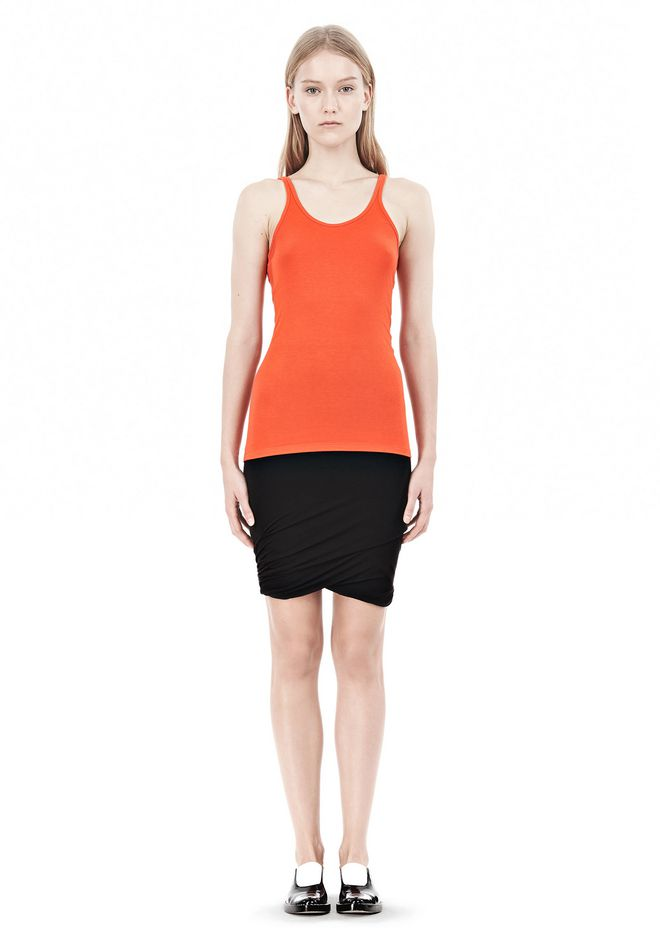 T by ALEXANDER WANG MODAL SPANDEX CAMI TANK TOP Adult 12_n_f
