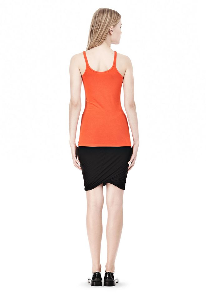 T by ALEXANDER WANG MODAL SPANDEX CAMI TANK TOP Adult 12_n_r